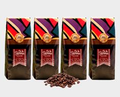 Café Bourbon rouge, en grain, 250 g. Signature Origine : El Salvador